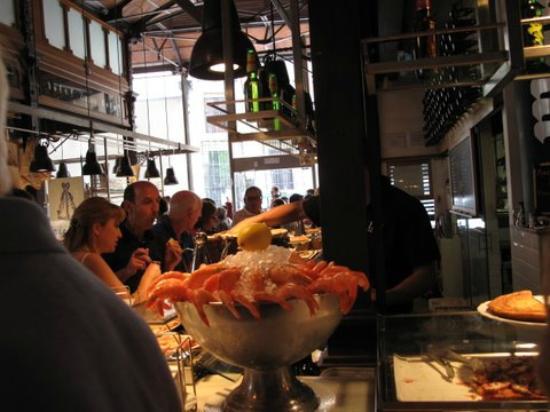 Cafe del Art : Frutos do mar