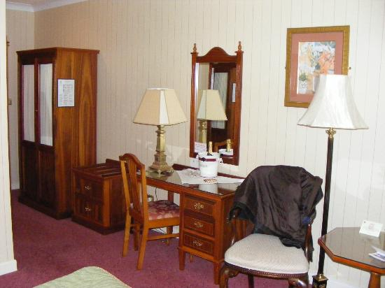 Abbey Hotel: the bedroom area