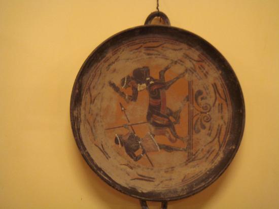 Zeni Winery and Wine Museum: Museum artefact