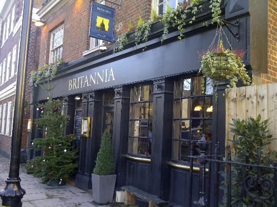 The Britannia: Exterior