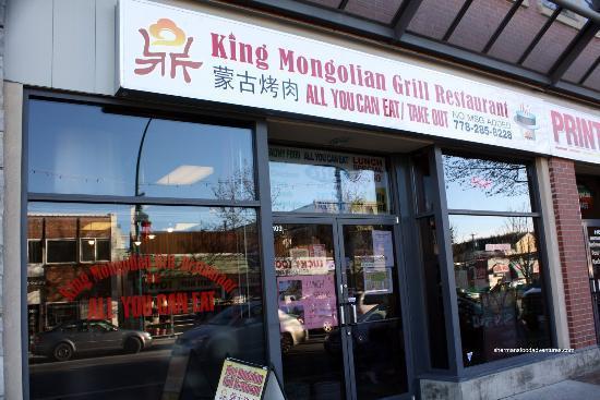 King Mongolian Grill Restaurant