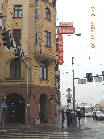 Europejski Hotel: Aussenansicht des Hotels