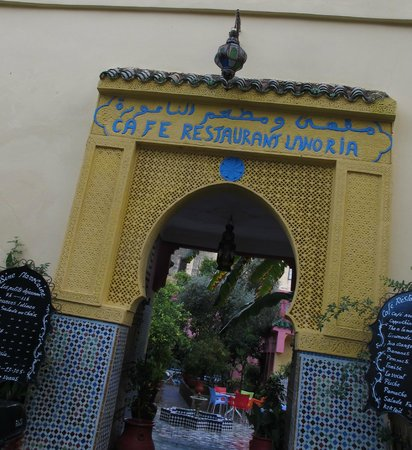 Cafe de la Noria in Fes