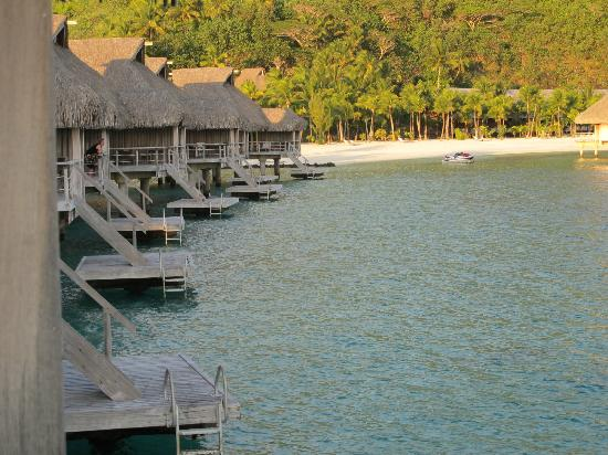 Conrad Bora Bora Nui: View from my over-the-water bungalow