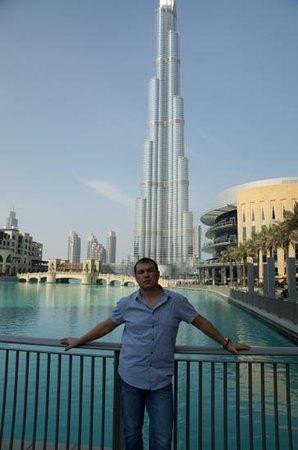 Grand Millennium Dubai: Burj Khalifa впечатляет...