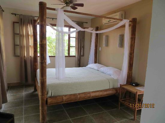 Lodge Las Ranas: Queen bed