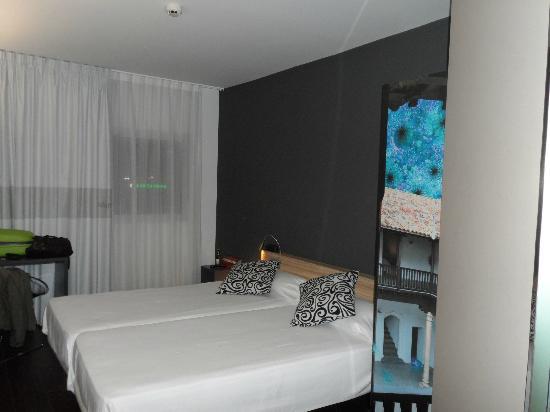 B&B Hotel Albacete: camas comodas