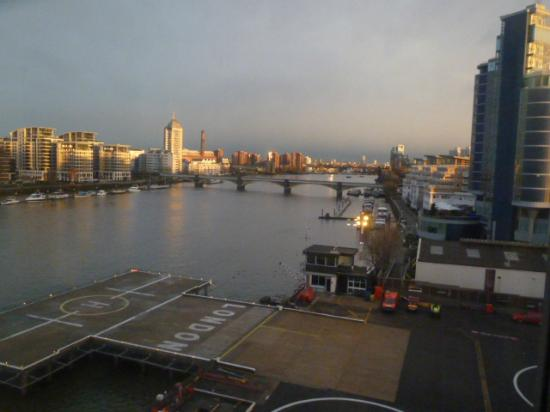Crowne Plaza London - Battersea: View from the room.