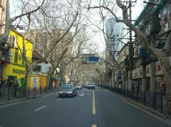 Zhongbang Hotel: Calle