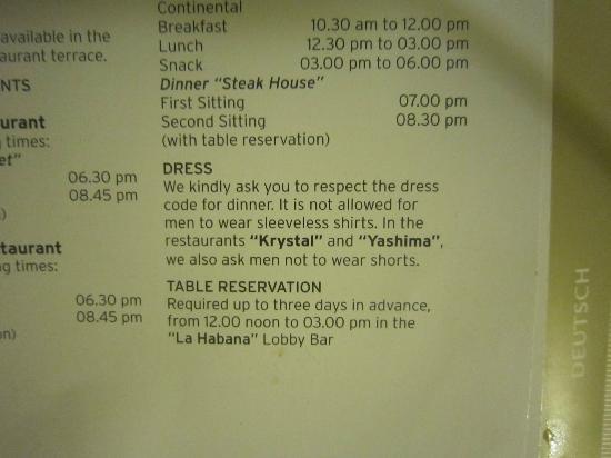 show topic dress code playacar palace playa carmen yucatan peninsula