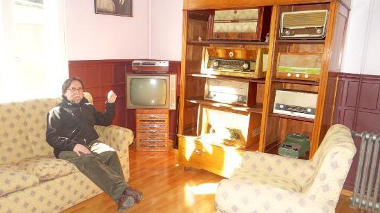 Hostal Calafate : antiguas fotos de los dueños de la casa