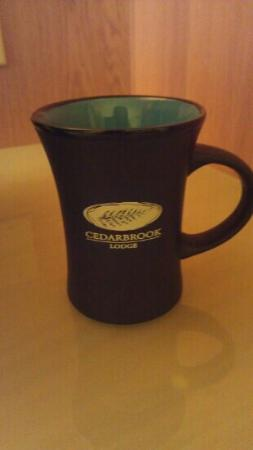 Cedarbrook Lodge: coffee mugs were even nice!