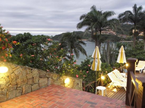 La Boheme Hotel e Apart Hotel: Vista desde la Pileta