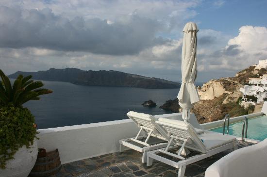 Kima Villa: View from Kima blacony