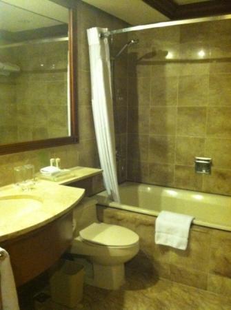 هوليداي إن مانيلا جاليريا: Bathroom