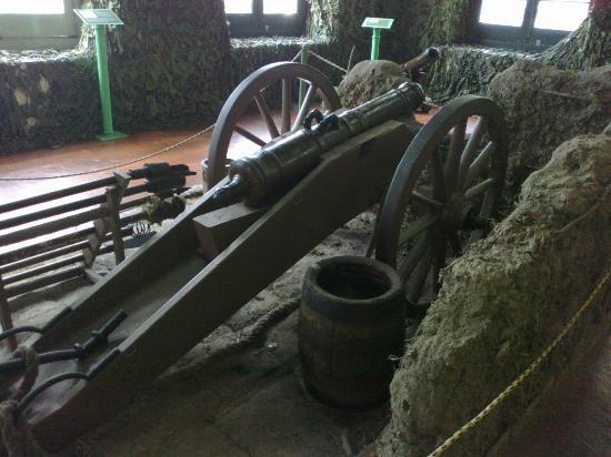 Military Museum: canhão