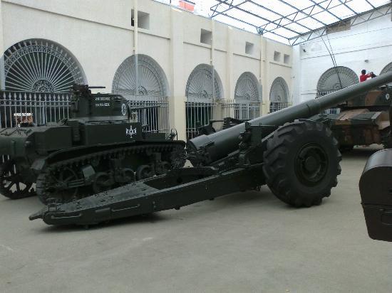 Military Museum: artilharia