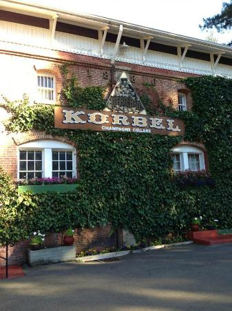 Wine Country Inn & Cottages: Korbel