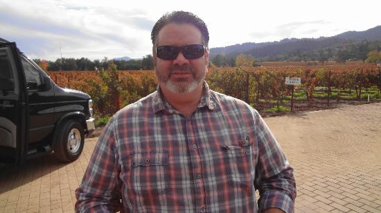 The Wine Country Inn: Marty the awesome tour guide