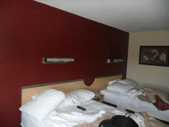 Red Roof Inn Erie: Beds.
