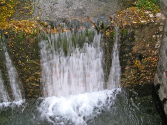 Hotel Villa de Laujar: Waterfall El Naciamiento de Andarax