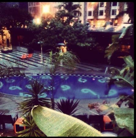 Phoenix Hotel, a Joie de Vivre hotel: View of the pool from our room