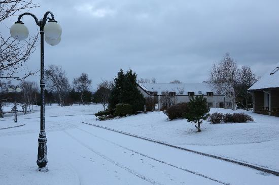 Scandinavian Village: Snowy