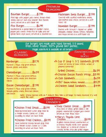 Beje's Diner: Burgers...
