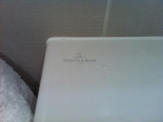 Royal Garden Hotel: wash basin