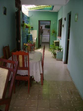 Hostal Pilar: Salle à manger