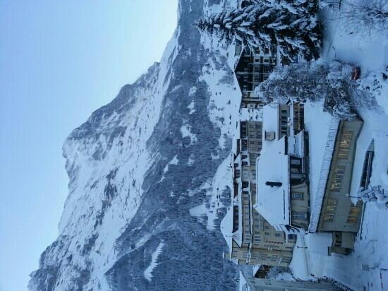 Hotel Restaurant Alpina Grindelwald: Amazing view at the balcony
