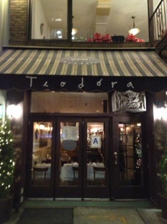 Teodora, cosy on a chilly evening