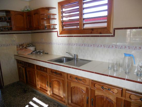 Villa Jorge y Ana Luisa: la cucina della casa