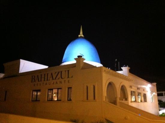 Bahiazul Restaurant: cúpula azul