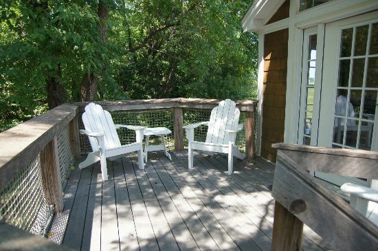 Cottage Deck Picture Of Worlds Of Fun Village Kansas