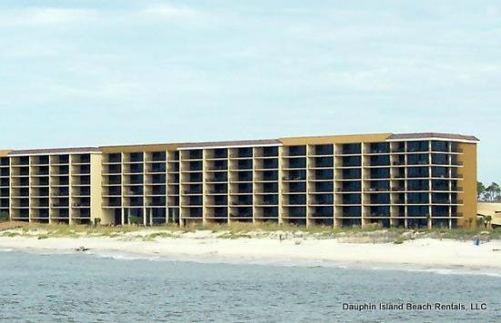 Holiday Isle Resort : Holiday Isle - Gulf-front Condo on Dauphin Island