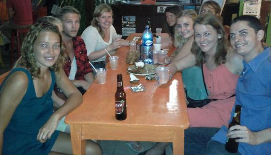 Hostel Pachamama: Making friends!