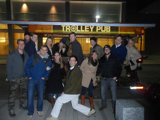 Trolley Pub tour