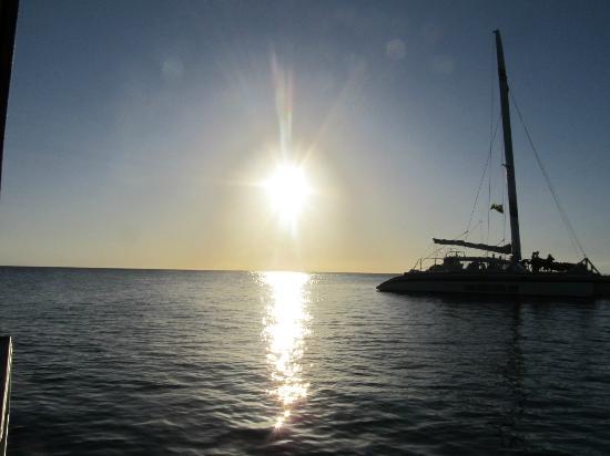 Sandals Negril Beach Resort & Spa: sunset