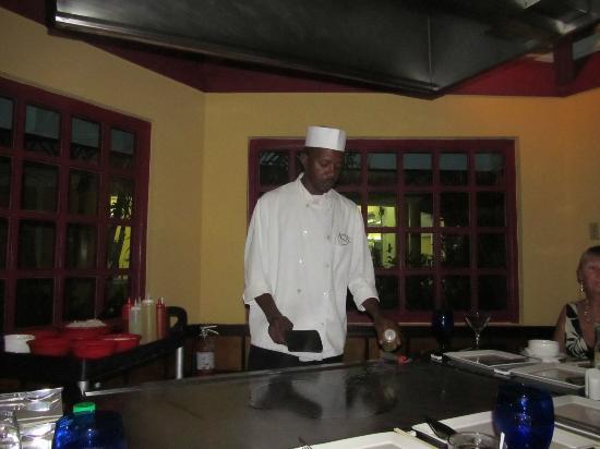 Sandals Negril Beach Resort & Spa: Kiminos Japanese Resturant