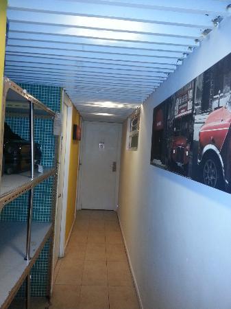 เยสอินน์ โฮสเทล: hallway