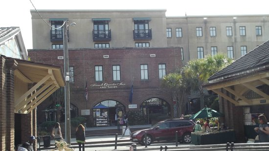 French Quarter Inn: View from the City Market