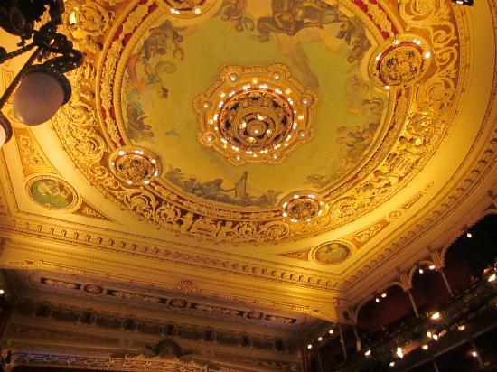 Teatro Arriaga Antzokia: Menudo techo
