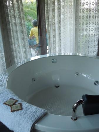 Be Tulum Hotel: vasca idromassaggio non jacuzzi...