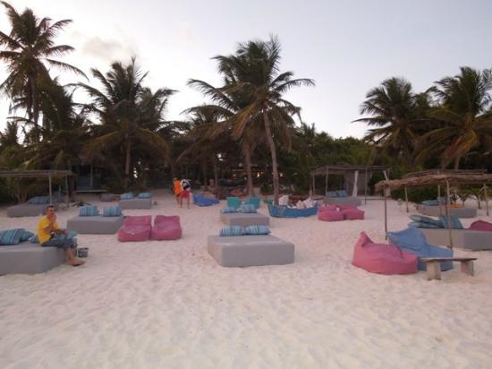 Be Tulum Hotel: spiaggia