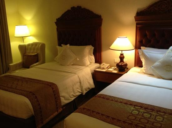 The Royale Chulan Kuala Lumpur: ツインルームのベッド