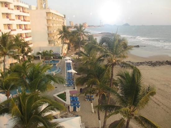 Oceano Palace Beach Hotel: view from room
