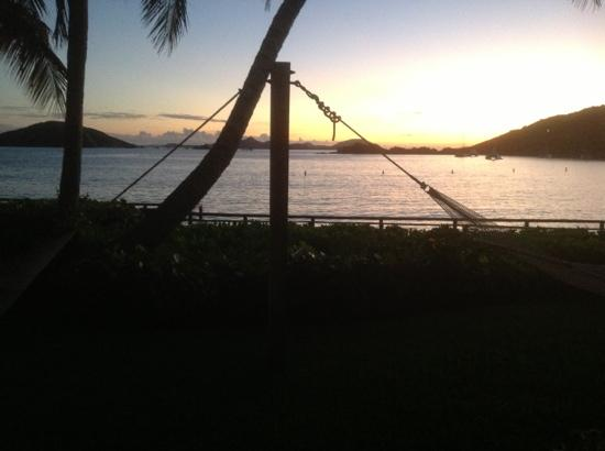Peter Island Resort and Spa: View from our rooms hammock.