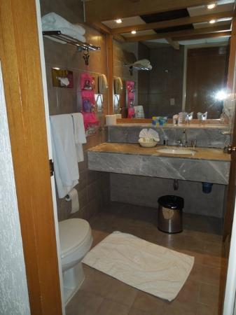 Hotel Casa Blanca Mexico City: bagno spazioso