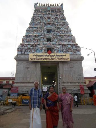 Karaikal, India: Shani temple